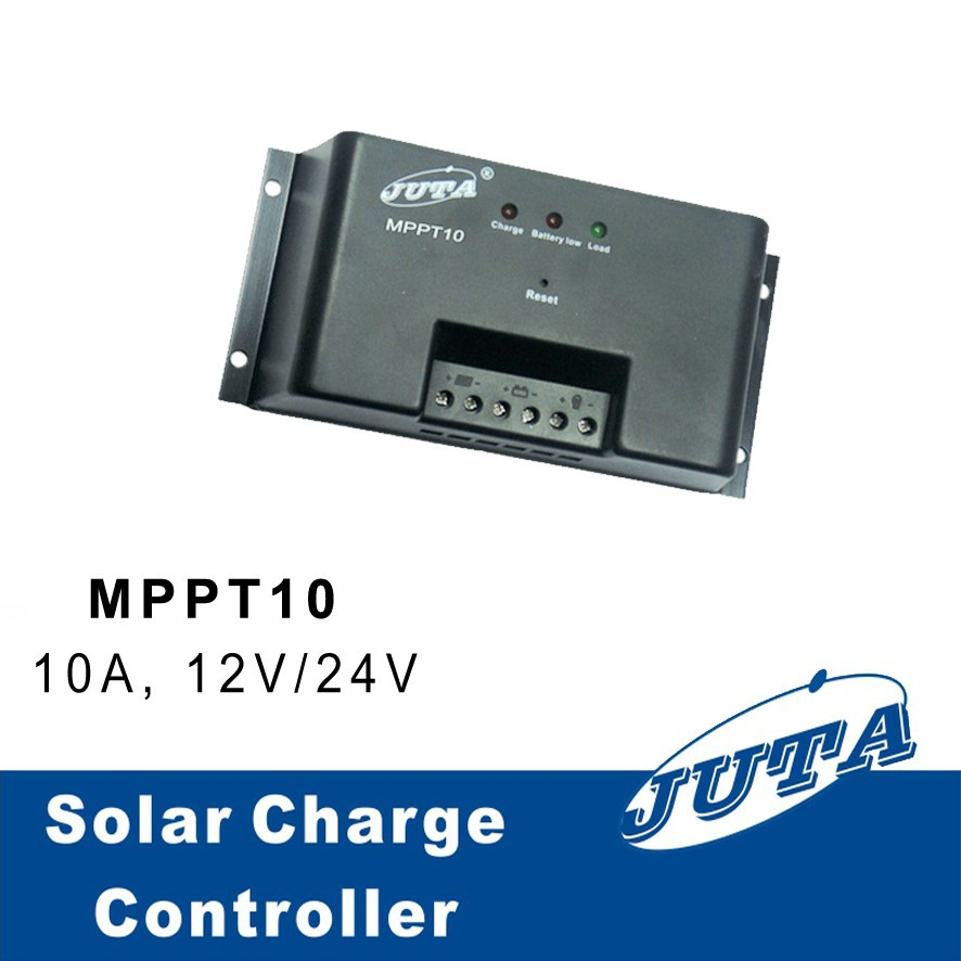 Wuhan Wanpeng JUTA 10A 12V MPPT10 mppt solar energy system panel battery charge/charger controller/regulator