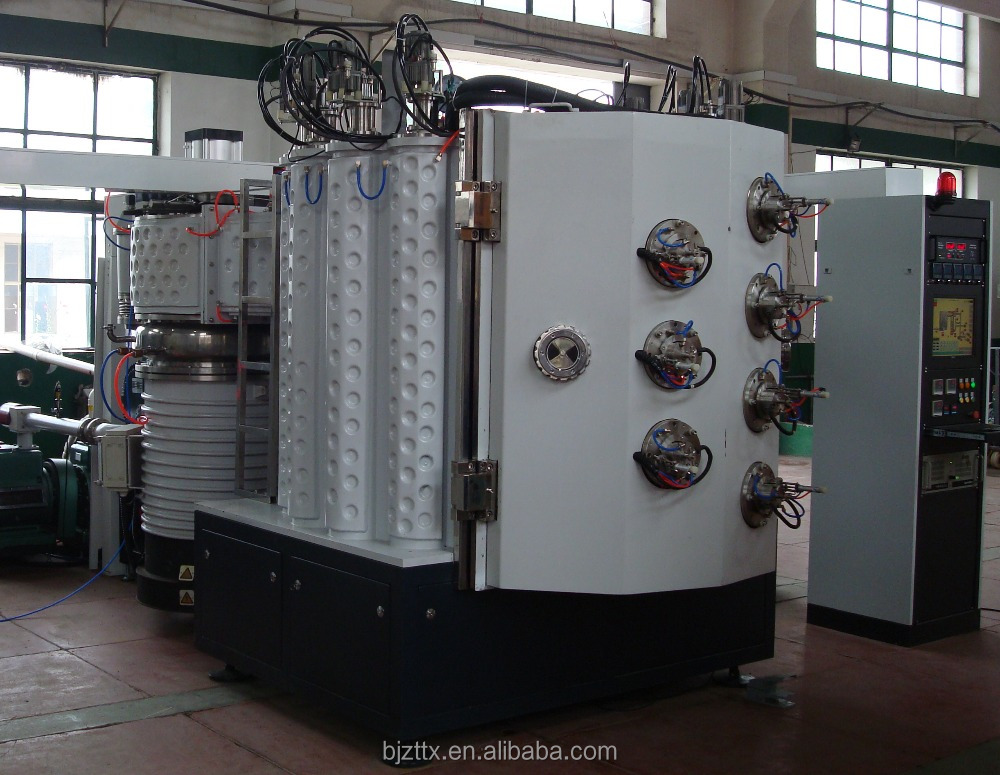Magnetron sputtering pvd arc ion plating machine for hardware
