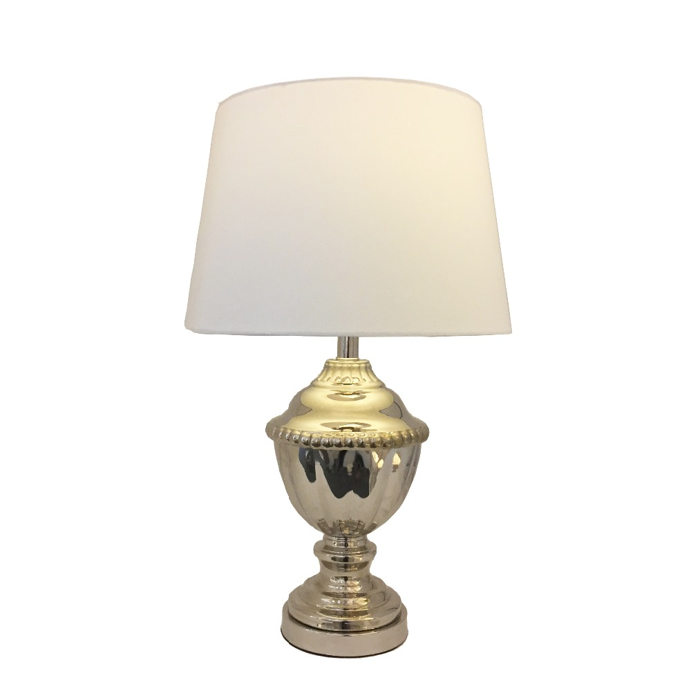 55b9940e4e Wholesale Price Replica White Oluce Atoll Polish Nickel Trophy Glass Table  Lamp For Home Decoration