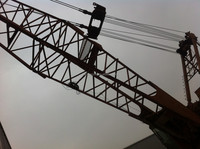 Used Manitowoc lift crawler crane 250 ton, original from America
