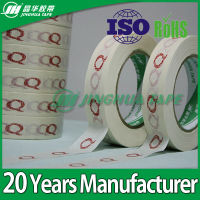 provide sharp line masking tape crepe printed paper tape