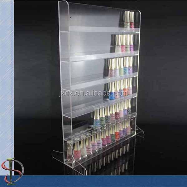 Venta al por mayor vitrinas para exhibir esmaltes de uñas-Compre ...