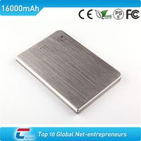 2012 portable gift high capacity power bank 16000mah