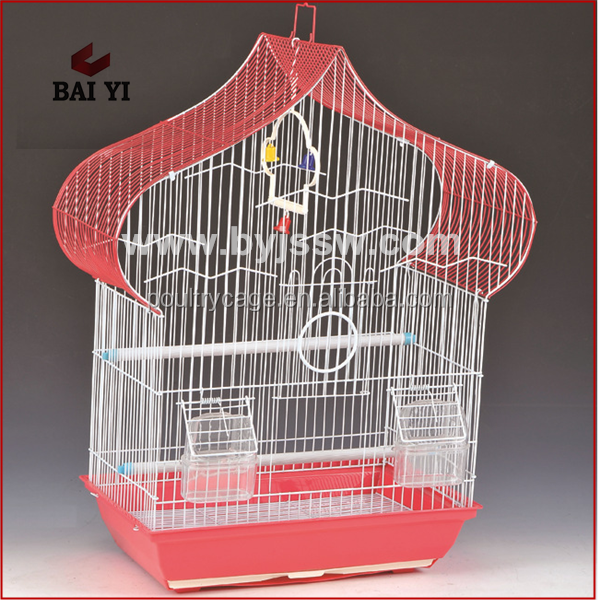 Bird Cage Wrought Iron With Bird Cage Water Fountain