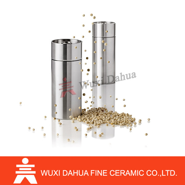 mini enjoy grinding pretty manual type wall-mounted hand stainless steel salt and pepper grinder