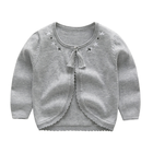 PHB60589 hot sale girls plain design sweater kids trading company