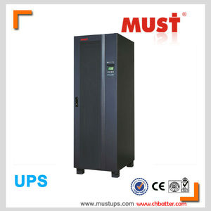 ups power supply 20kva 3 phase high frequency online topology double convertion tech of IGBT inverter PFC silicon rectifier