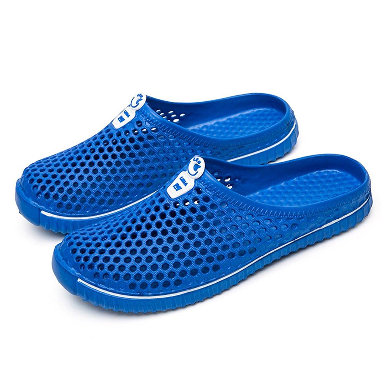 ERGGU Womens Clogs Mens Garden Shoes Garden Clogs Beach Sandals Arch Support Sandals For Women Lightweight Mesh Slip on Summer Shoes