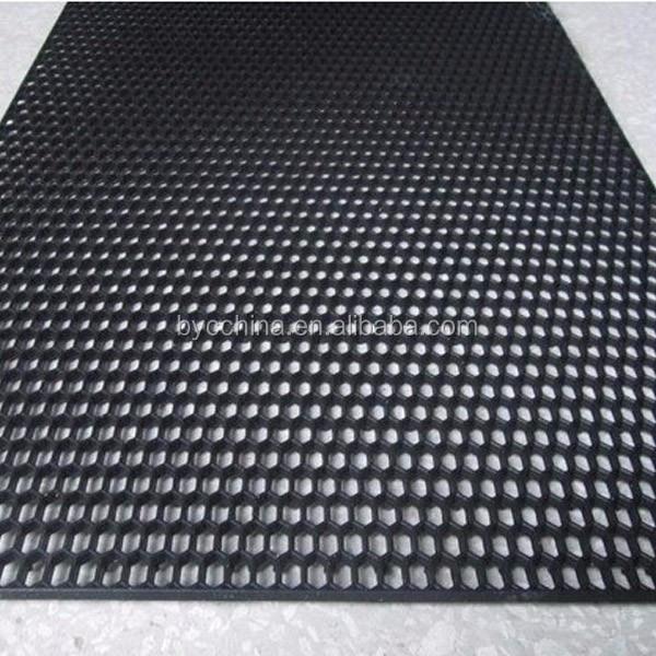 byc abs en plastique petit trou hexagone maille grille en nid d 39 abeille pare chocs calandre. Black Bedroom Furniture Sets. Home Design Ideas