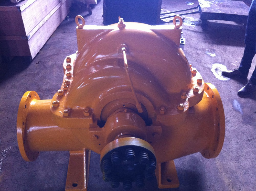 Horizontal single stage end suction double casing Slurry pump