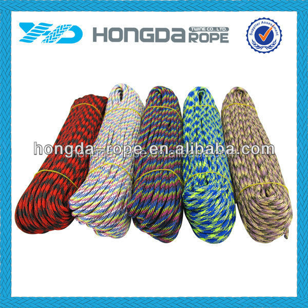 colored paracord 550 cord for paracord survival bracelet making