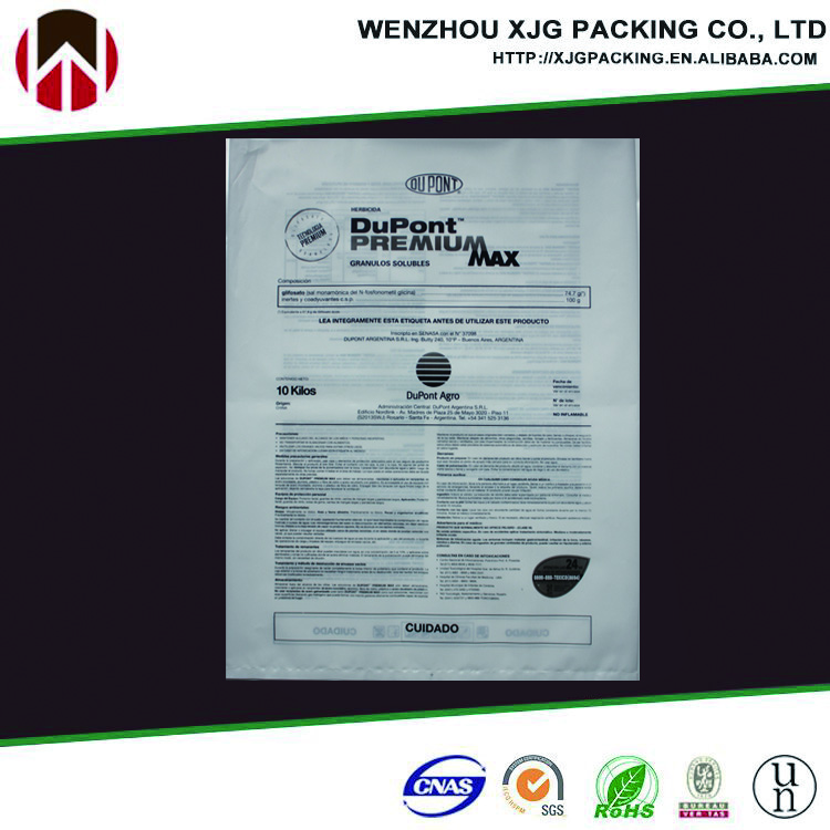 polyethylene pe valve bags for packing chemical/building material 25kg