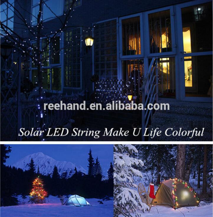 solar power christmas led raindrop light for decoration meteor shower rain led christmas