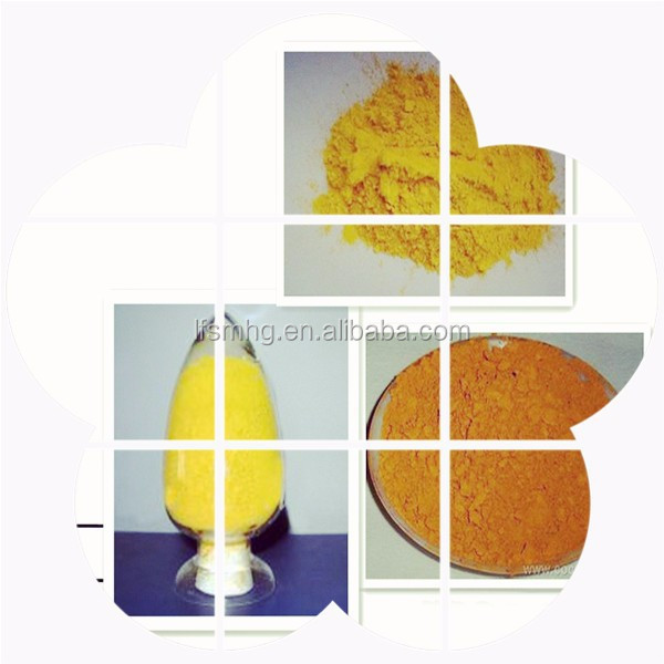 High purity iron Ferric oxide Fe2o3 yellow pigments for modified asphalt coloring