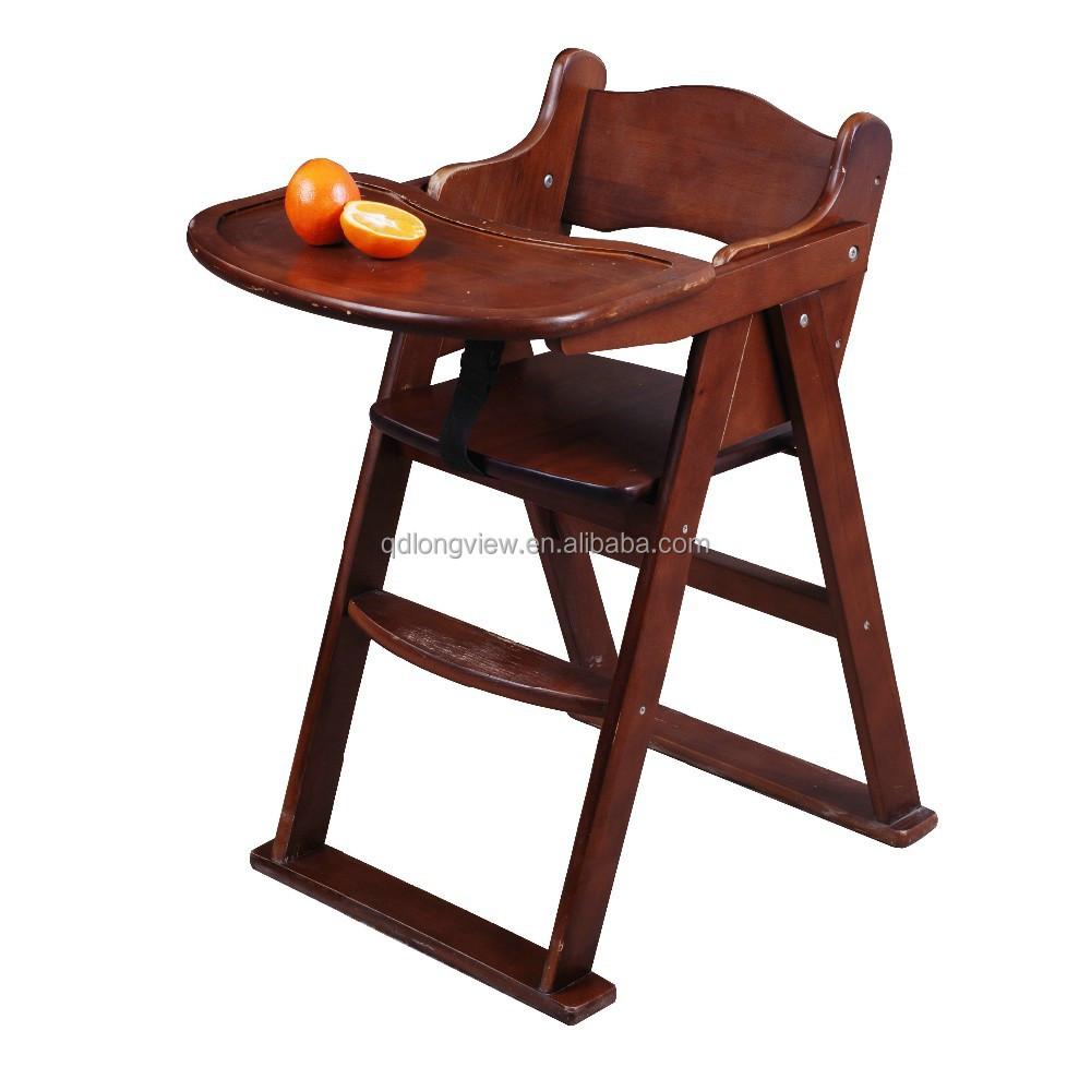 dise o de madera de la manera segura beb silla de sal n