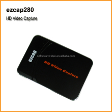 1080p USB video capture card, video capture stand alone no need computer, 1080P HDMI/YPbPr Recorder into USB disk-ezcap280
