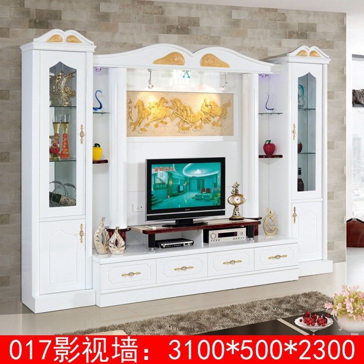 Latest european design everyday living hall unit furniture for Latest living hall design