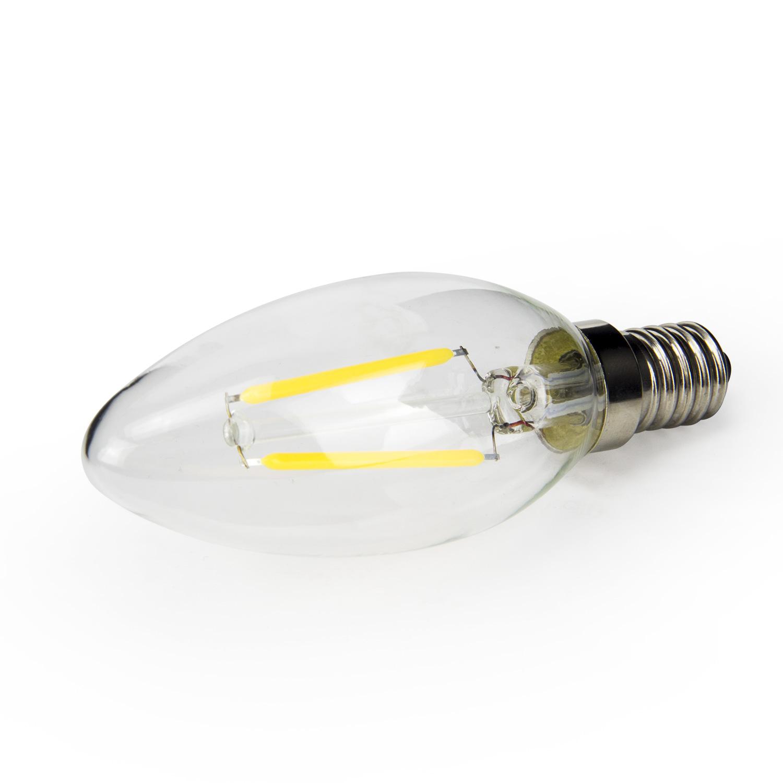 Chandelier C35 2W/4W/6W AC 120/220V Dimmable  LED filament bulb