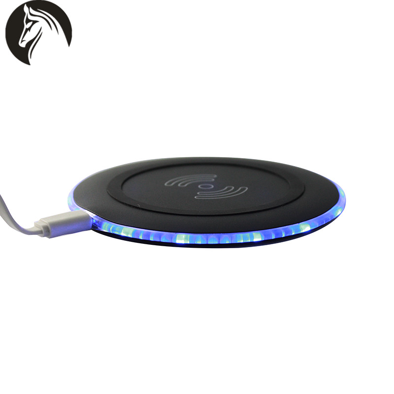 QI Wireless Charger Transmitter Price Offer Wireless Charging Pad for Samsung Galaxy S8 Hot Selling in Global Sources Exhibition