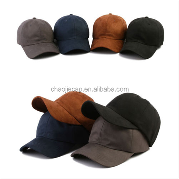 New hot selling suede custom baseball cap <strong>hat</strong>