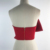 Summer Cropped Tops Tank for Women Off Shoulder Backless with Zipper Black Red Tube Tops Shirts Backless Sexy Blusas Strapless