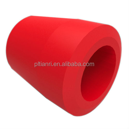 bush manufacturer flat free polyurethane tire for heavy truck