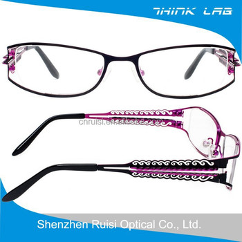 High-end Eyewear Frames,Ornamental Engraving Spectacles ...