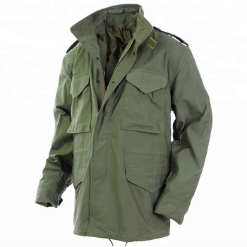 Military Army Tactical Combat Black Color M65 Field Winter Jacket ... ba0f2cbecf34