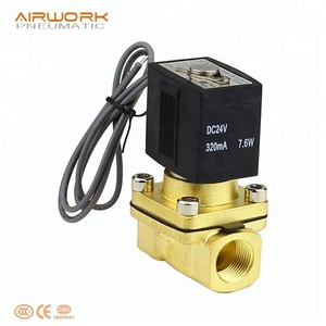 VX SMC type 220v ac 24v dc volt water brass pneumatic electric solenoid valve normally closed