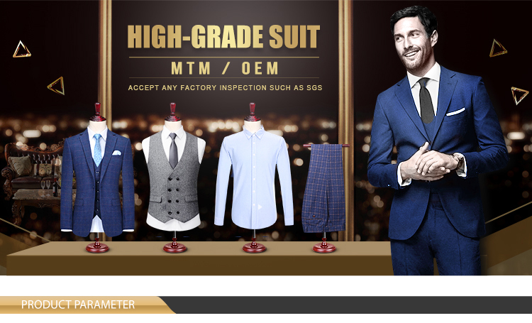 Made to measure casual 2 piece business formal coat pant wedding men suit man suit italy