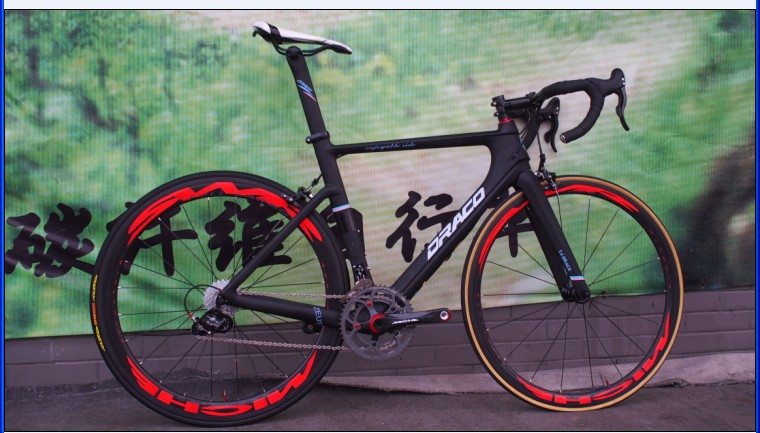 2015 draco carbon fiber road bike newly designed carbon fiber frame incredible cycling experience