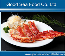Frozen red snow crab