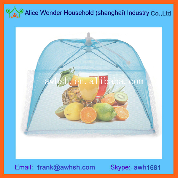 Picnic Mesh Food Cover Plastic Dish Cover