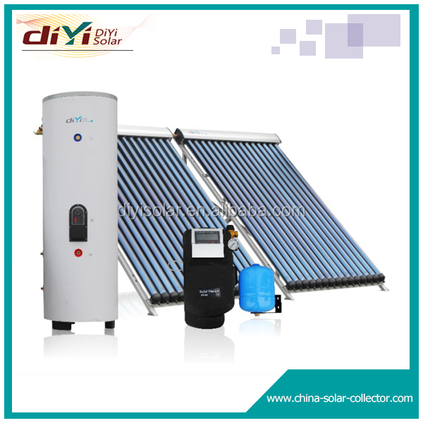 Harmony with the building perfectly indirect thermosiphon solar water heating system