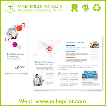 Iklan Bermutu Tinggi Pencetakan Tri Folder Kertas Seni Olahraga