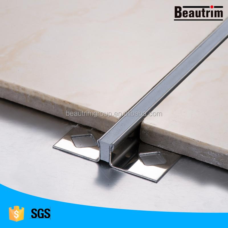 Expansion Joint Bronze Metal Tile Trim