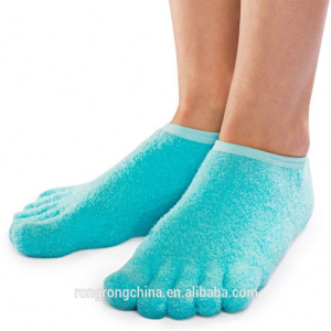 Moisturizing Five Fingers Socks Breathable Gel Custom Socks Five Toe Socks