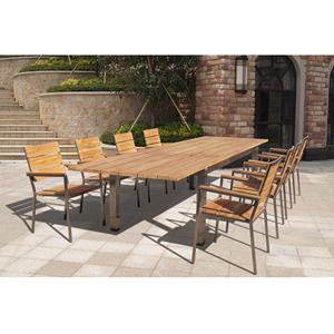Brown Teak Wood Dining Table Set Rs 60000 Set Zeeshan Traders