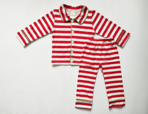 New design bulk wholesale kids clothing sets family children Christmas stripe cotton pajamas
