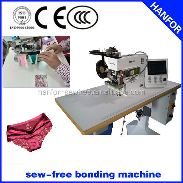 Hanfor geen-stitch bonding machine voor lingerie hf-801