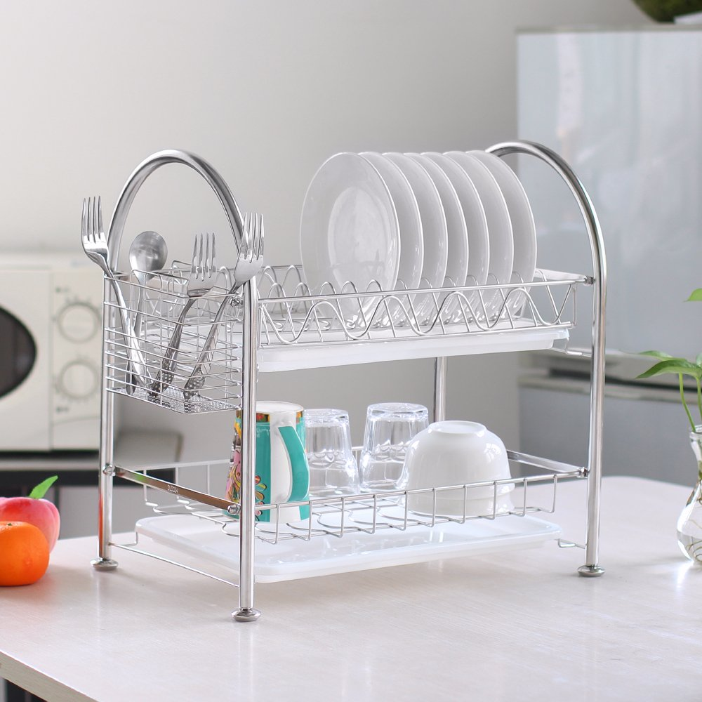 Cheap Polder Stainless Steel Dish Rack Find Polder Stainless Steel