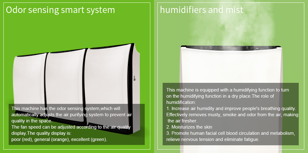 Best Selling 2019 Portable Small Air Cleaner China Manufactures Hepa Filter Wholesale Air Purifier