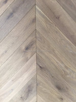 Black Walnut hardwood chevron flooring for wholesale