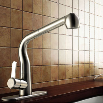 Kitchen accessories single cold spiral faucet kitchen faucet