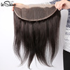 13x4 Transparent Swiss Lace Frontal With Baby Hair Cuticle Aligned Virgin Human Hair Factories For Sale In China