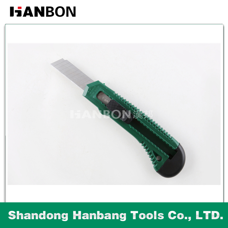 Best Selling Utility Knife/Cutter/Single Blade /Plastic Hand Tool