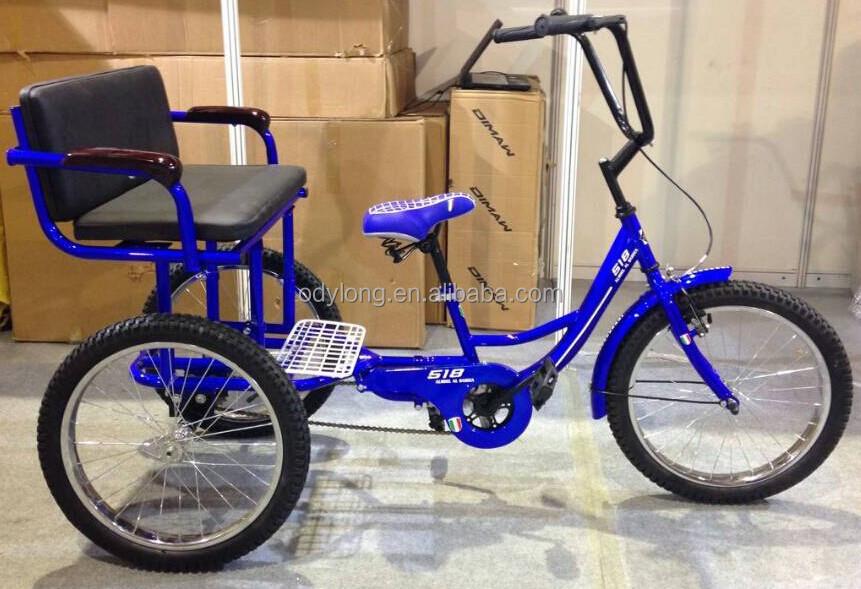 Cheap China Supplier Adult Pedal Tricycle,Pedal Rickshaw Hbtj20-6 ...
