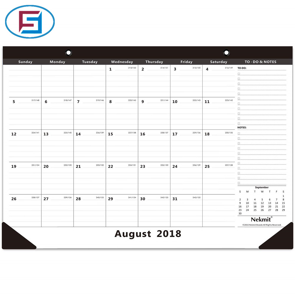 Calendario 216.Mensual Escritorio Pad Calendario 16 3 4x11 4 5 Pulgadas En Precio Competitivo Buy Calendario De Escritorio Calendario De Escritorio