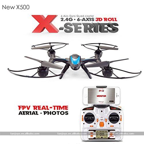 drone radiocommand fpv quadcopter mjx x500 cadre pour gopro multicopter dji araign e drone dji. Black Bedroom Furniture Sets. Home Design Ideas