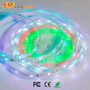 Digital and magic color WS2811 RGB SMD5050 led pixel strip light,one pixel damage